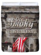 Ole Smoky Distillery Duvet Cover by Dan Sproul