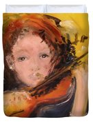 Pearl Duvet Cover by Laurie D Lundquist