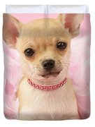 Pink Times Duvet Cover by Greg Cuddiford