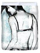 Rear View Duvet Cover by David Ridley