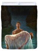 Resurrection Duvet Cover by Mia Tavonatti