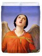 Sacred Music Duvet Cover by Luigi Mussini