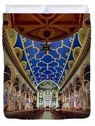 Saint Michael Church Duvet Cover by Susan Candelario