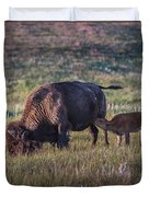 Snack Time Duvet Cover by Paul Freidlund