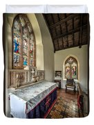 Stained Glass Duvet Cover by Adrian Evans