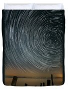Star Trails 1 Duvet Cover by Benjamin Reed
