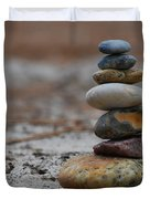 Stone Pyramide Duvet Cover by Hannes Cmarits