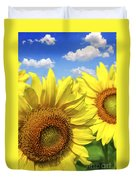 Sunflowers Duvet Cover by Elena Elisseeva