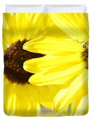 Sunflowers Duvet Cover by Les Cunliffe