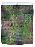 technology abstract Duvet Cover by Michal Boubin