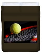 Tennis Equipment Duvet Cover by Michal Bednarek