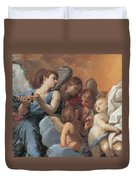 The Assumption Of The Virgin Mary Duvet Cover by Guido Reni