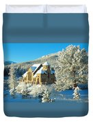 The Chapel On The Rock II Duvet Cover by Eric Glaser