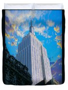 The Empire State Building Duvet Cover by Jon Neidert