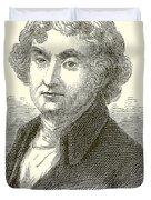 Thomas Jefferson Duvet Cover by English School