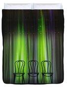 Three Duvet Cover by Margie Hurwich