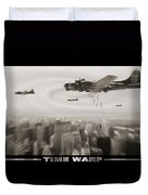 Time Warp Duvet Cover by Mike McGlothlen