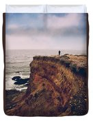 To The Ends Of The Earth Duvet Cover by Laurie Search