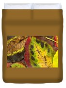 Turning Leaves Duvet Cover by Stephen Anderson