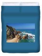 Ursa Beach Duvet Cover by Carlos Caetano