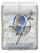 Warriors Triumphant Duvet Cover by Cliff Hawley