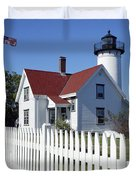 West Chop Lighthouse Duvet Cover by John Greim