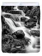 Winter Rapids Duvet Cover by Adrian Evans