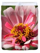 Zinnia from the Whirlygig Mix Duvet Cover by J McCombie