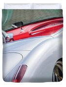 1960 Chevrolet Corvette Duvet Cover by Jill Reger