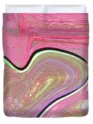1211 Abstract Thought Duvet Cover by Chowdary V Arikatla