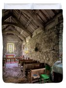 12th Century Chapel Duvet Cover by Adrian Evans