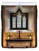 14th Century Chapel Duvet Cover by Adrian Evans