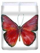 16 Mesene Rubella Butterfly Duvet Cover by Amy Kirkpatrick