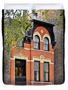 1817 N Orleans St Old Town Chicago Duvet Cover by Christine Till