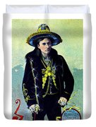 1880 Lighthall's Medicine Show Duvet Cover by Historic Image