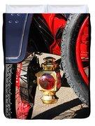 1911 Ford Model T Torpedo 4 Cylinder 25 Hp Taillight Duvet Cover by Jill Reger
