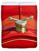 1919 Ford Volunteer Fire Truck Duvet Cover by Jill Reger