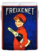 1920 - Freixenet Wines - Advertisement Poster - Color Duvet Cover by John Madison