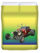 1923  Ford T Bucket  Duvet Cover by Jack Pumphrey