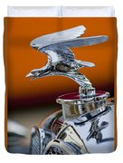 1932 Alvis Hood Ornament 2 Duvet Cover by Jill Reger