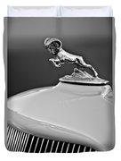 1933 Dodge Ram Hood Ornament 2 Duvet Cover by Jill Reger