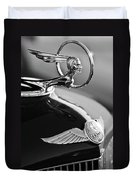 1933 Pontiac Hood Ornament 4 Duvet Cover by Jill Reger