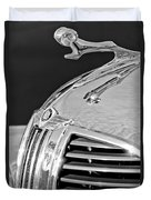 1938 Dodge Ram Hood Ornament 4 Duvet Cover by Jill Reger