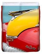 1946 Desoto Skyview Taxi Cab Hood Ornament Duvet Cover by Jill Reger