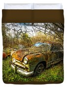 1949 Ford Duvet Cover by Debra and Dave Vanderlaan