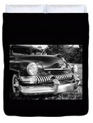 1951 Mercury Coupe - American Graffiti Duvet Cover by Edward Fielding