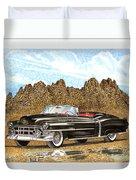 1953 Cadillac Eldorado Biarritz Duvet Cover by Jack Pumphrey