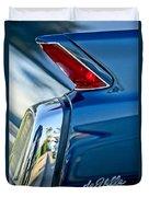 1962 Cadillac Deville Taillight Duvet Cover by Jill Reger