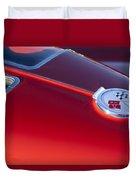 1963 Chevrolet Corvette Split Window Duvet Cover by Jill Reger