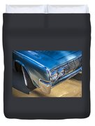 1964 Lincoln Continental Convertible  Duvet Cover by Rich Franco